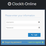 ClockIt-Online sign up