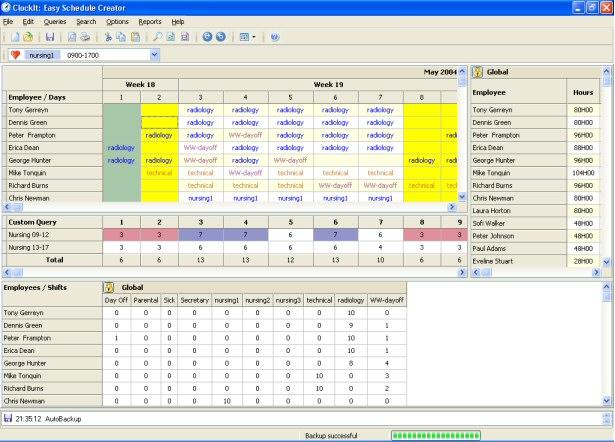 ClockIt-Offline full screenshot